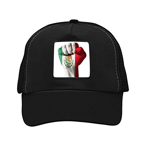 Mexico 2018 football World Cup Baseball Adult Baseball Cap Hat Black ()