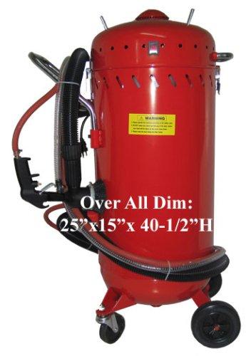 Sableuse abrasive avec vide de 28 gallons par générique