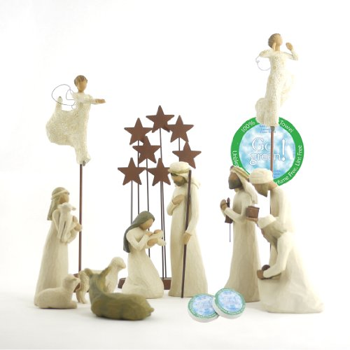 Willow Tree 12 Piece Nativity Set by Willow Tree