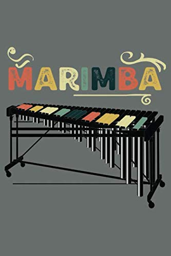 Marimba: 120 Pages 6 x 9 inches Journal