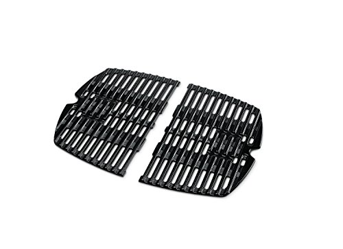 Weber 7644 Porcelain-Enameled Cast-Iron Cooking Grates - Weber Q100 Series