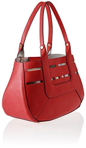 Borse De Mujer Hombro Red red Chicca Rojo Bolso 8685 pqSnZxZA