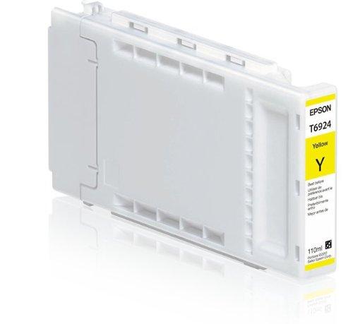 Yellow Ultra Chrome XD Ink Cartridge, 110 ml () - Epson T692400