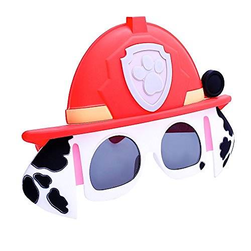 Sun-Staches Costume Sunglasses Marshall Paw Patrol Party Favors UV400 (Patrol Paw Sunglasses)