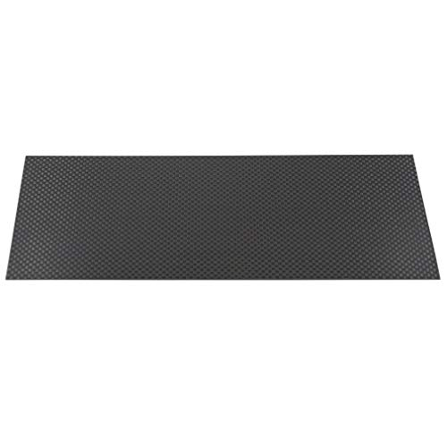 (ReliaBot 3K Full Carbon Fiber Sheet 100mm x 250mm x 1.5mm Plain Weave Panel Plate Thickness 1.5mm (Glossy Surface))