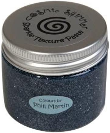 Cosmic Shimmer SENTIMENTALLY Yours/ Gunmetal 43/x 50/x 50/cm /von Phill Martin Sparkle Textur Paste Acryl