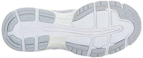 Descuento en línea Barato Venta más nuevo Gel Nimbus 19 Zapatilla De Running Glaciar Gris / Plata / Blanco De La Mujer Asics LXF2WW
