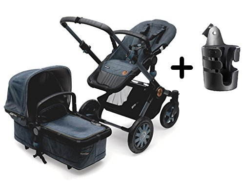 Bugaboo 2015 Buffalo by Diesel Complete Stroller with Bugaboo Cup Holder