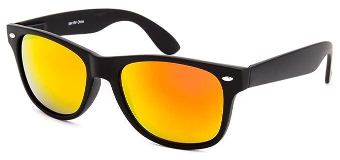 Amazon.com: 8841 clásico moderno Wayfarer anteojos de sol ...