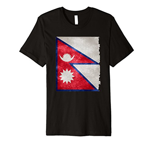 KATHMANDU NEPAL FLAG shirt. Katmandu city travel guide tee -