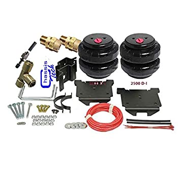 "Air Lift 72000 >> Amazon.com: Chevy 2500 Tow Assist Air Bag Over Load Kit No Drill 4"" Suspension Lifted 01-10 ..."