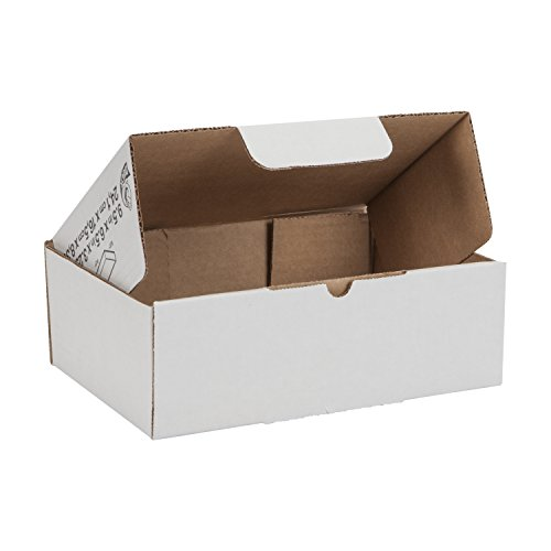 Duck Brand Self-Locking Mailing Boxes, Sample Size, 9.5