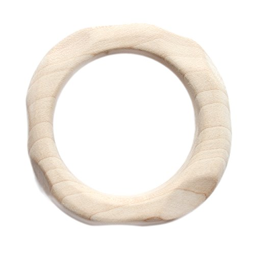 (Waldorf Maple Teether Natural Teething Ring)