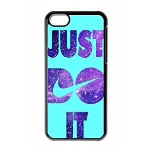 diy zhengHard Plastic Cover Case NIKE logo Just Do It Ipod Touch 5 5th Case