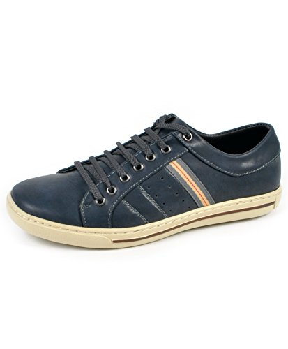 Mens Casual Hipster Shoe (10.5C, Navy)