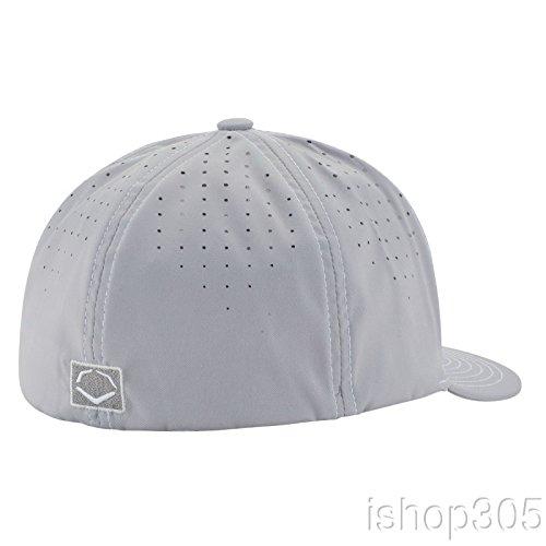 Wilson Sporting Goods Evoshield Home Team Flexfit, Grey/White, Large/X-Large(7 3/8-7 5/8)