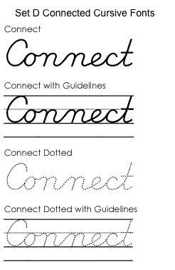 Amazon.com: Schoolhouse Fonts SmartFonts Set D version 6 (D ...