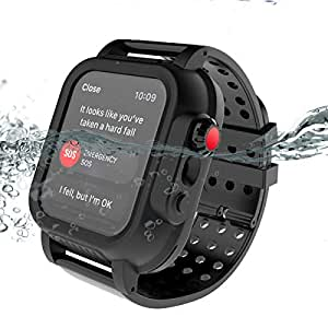 Amazon.com: BasicStock iWatch Series 4 40MM Waterproof Case ...