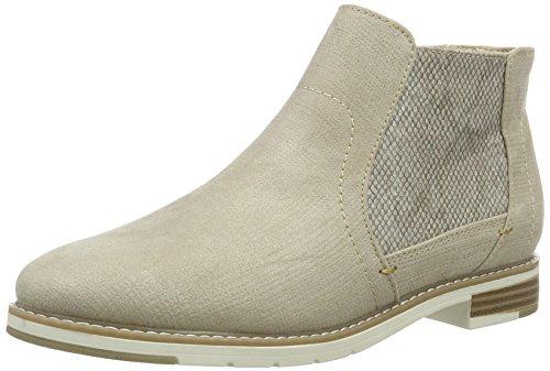 Boots 25460 Dune Damen 407 Softline Beige Chelsea Metallic wFtqv