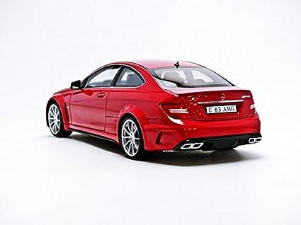 Gt Spirit 1 18 Scale Gt065 Mercedes Benz C63 Amg Red Spielzeug