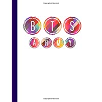 BTS Army: Kpop Journal,Notebook,Diary,bullet,Dot Grid Paper,composition book,Bangtan,Fan,Merchandise,unofficial: Use for Journalling,album for photo cards,School,Art:Cool Gift: Girl,women,teens