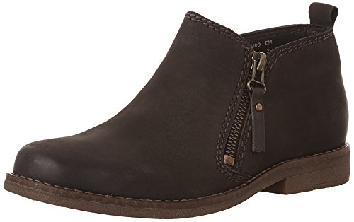 Hush Puppies Women's Mazin Cayto Ankle Boot, Dark Brown, 7 M US