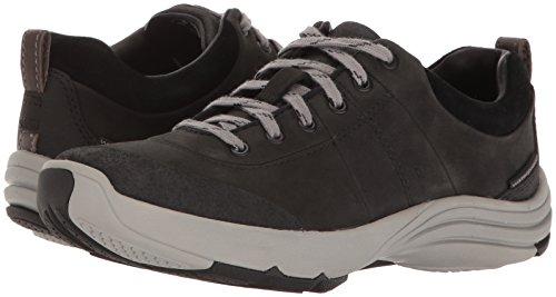 CLARKS Women's Wave Andes Walking Shoe, Black Nubuck, 7.5 W US by CLARKS (Image #6)