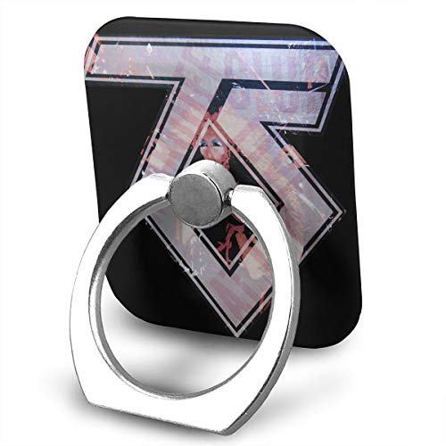 EdithL Twisted Sister Cellstand Finger Ring Stand Holder, Car Mount 360 Degree Rotation Universal Phone Ring Holder Kickstand for iPhone/iPad/Samsung