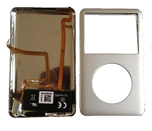 iPod Classic 6th 160gb Back cover+headphone jack+battery assymbly