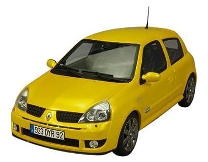 Amazon.com: Otto 1/18 Renault Clio II RS Fase 3 amarillo ...