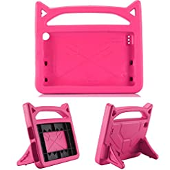 Vococal Fire 7 Case, Cute Kids Tablet Protective Case Cover with Handle Stand Compatible with Amazon Kindle Fire 7 2019…