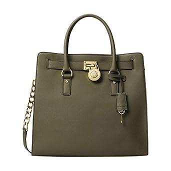 a7b229025916 MICHAEL Michael Kors Hamilton N/S Tote Olive (olive): Handbags ...