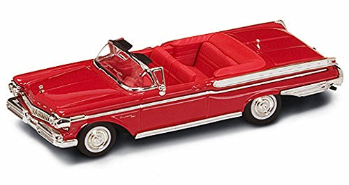 1957 Mercury Turnpike Cruiser Convertible, Red - Yatming 94253 - 1/43 Scale Diecast Model Toy (43 Red Diecast Model)
