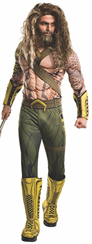 ( 	Rubie's Men's Batman v Superman: Dawn of Justice Aquaman Costume, X-Large,)