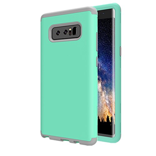 Galaxy Note 8 Case, AOKER Three Layer Heavy Duty High Impact Resistant Hybrid Hard Back Cover and Soft Silicone Slim Fit Best Protective Defender Case for Samsung Galaxy Note 8 - Lifeproof Case Camo 4 Ipod