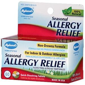 Hylands Homeopathic, Allergy Relief, 60 Tab