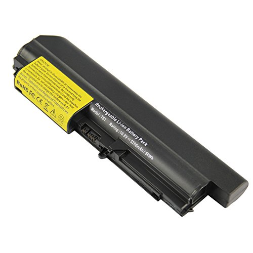 (High Performance Battery fit IBM ThinkPad Widescreen R61 R61i T61 T61p T400 R400 Series Laptop 14.1 Inch -Futurebatt)