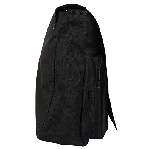 Family Shoulder Black amp; Zombie Walking Canvas Living Messenger Granddad Bag Large Dead Old Laptop School Twisted ffA4E