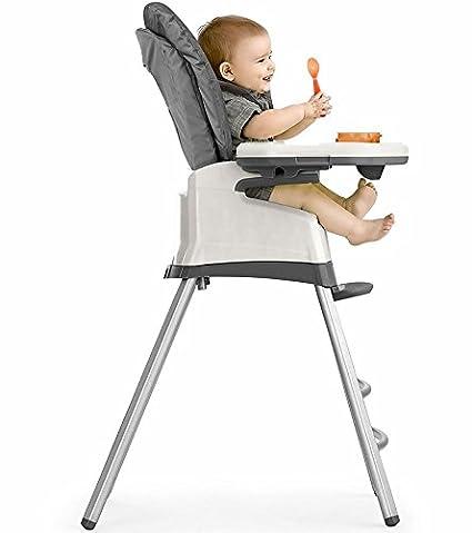 Amazon.com: Chicco nuevo Stack 3 en 1 Trona, Dune: Baby