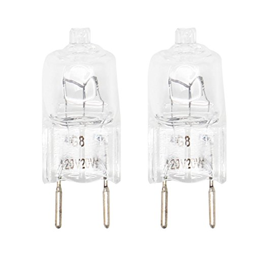 2-Pack Replacement Light Bulb for General Electric JVM1950SR1SS Microwave - Compatible General Electric WB25X10019 Light Bulb
