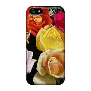 For Iphone 5/5s Tpu Phone Case Cover(roses For Carmen)