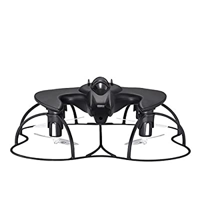 Propel Batwing Hd Drone With Remote Controller - Black: Toys & Games