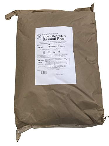 organic brown rice 25 pounds - 5