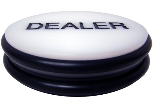 Brybelly Double-Sided Casino Grade Poker Dealer Button Puck - Large 3 Inch Diameter!