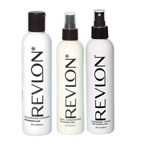 Revlon Texturizing Cleanser & Revitalizing Conditioner Revlon Synthetic Hair & Wigs (3 Piece Set)