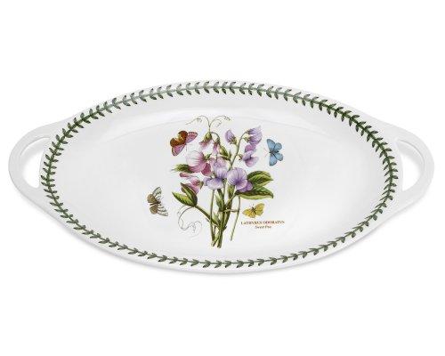 Portmeirion Botanic Garden Oval Platter with Handles 18