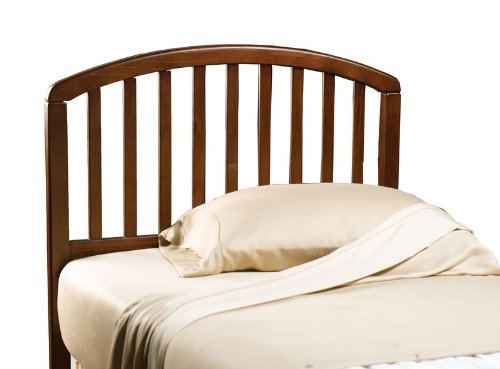 Size Twin Headboard Cherry (Hillsdale Furniture 1593HTWR Carolina Headboard with Rails, Twin, Cherry)