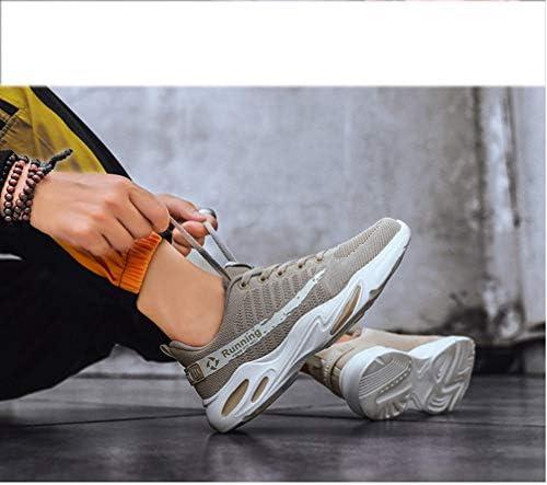 おしゃれ スニーカー ニット 通気 メンズシューズ スポーツ ウォーキングシューズ 大きいサイズ メンズ レースアップ カジュアルシューズ ジョギング ランニング 運動会 スポーツ会 日常 アウトドアシューズ