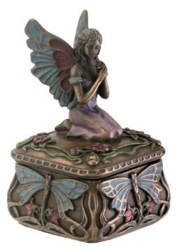 Dragonfly Fairy Box Jewelry Holder Decoration Accessory Collectible - Collectable Box