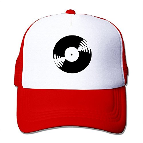 CEDAEI Vinyl Record Outdoor Mesh Hat Athlete Snapback Adjustable - Derulo Snapback Jason